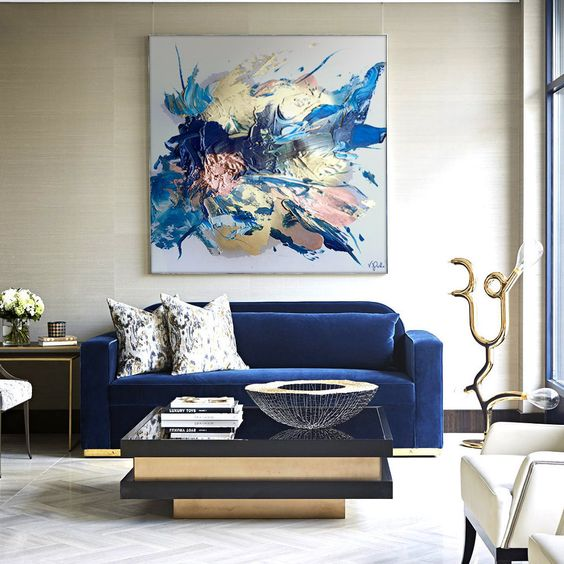 Art in interiors